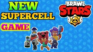 NEW SUPERCELL GAME ON ANDROID!!!//FIRST BATTLES IN BRAWL STARS!