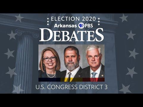 Election 2020: Arkansas PBS Debates. U.S. Congress District 3