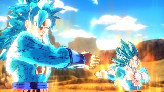 Super Saiyan Blue 4 Fusion Cutscene (Mod)【HD】