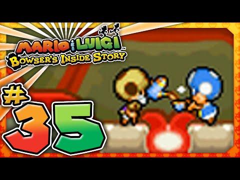 Mario And Luigi Bowser S Inside Story Part 35 Peach S Castle Garden