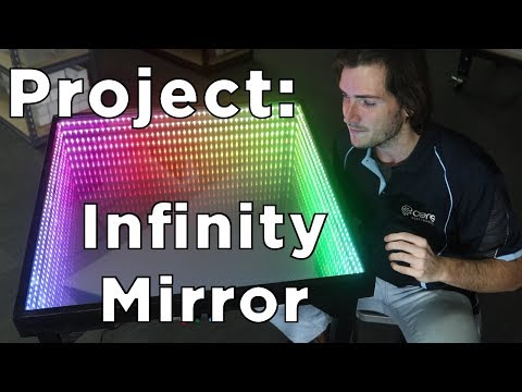 Project: Infinity Mirror Table. How to guide and full build details