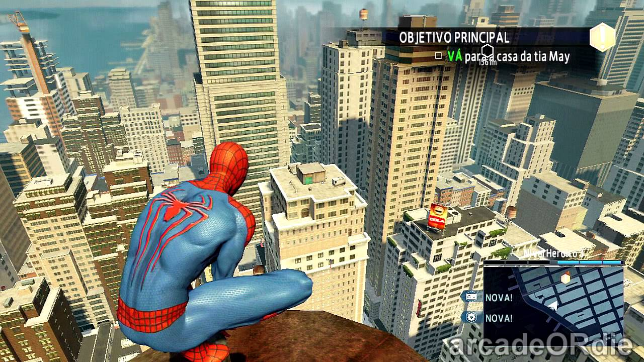 The Amazing Spider Man 2 Game PS4 GAMEPLAY HD