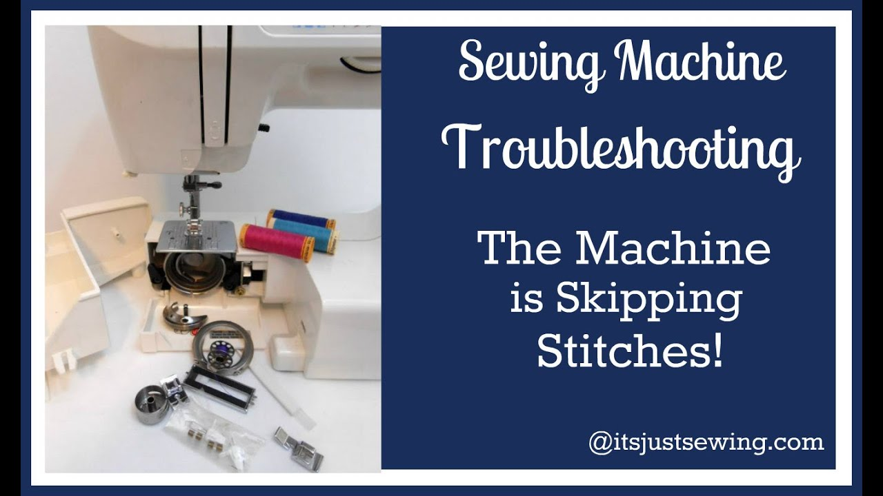 Troubleshooting Quick Snip Machine Skipping Stitches - YouTube