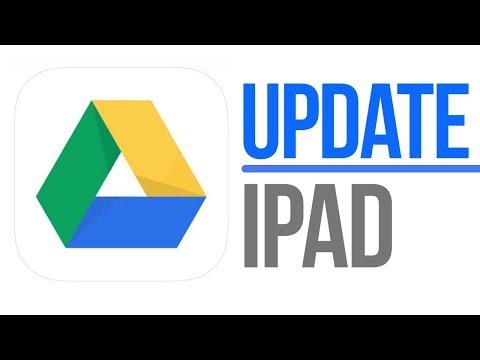How to use google drive on ipad