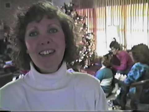 Christmas 1988  Harold and Jean Allison household  Muleshoe, Texas  Earth, Texas