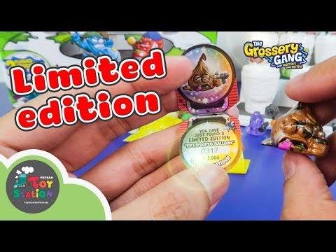Tìm thấy Grossery  Gang siêu giới hạn Limited Edition series 4 ToyStation 211