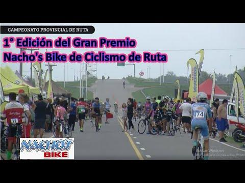 Gran Premio Nacho's Bike (Ruta) + Saúl Rosa Presentando A Pro Bike Entrenamiento