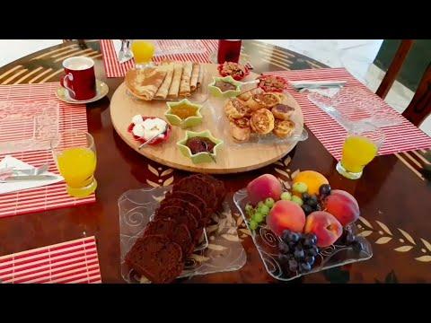 petit-déjeuner-en-vacances-فطور-صباحي-في-العطلة