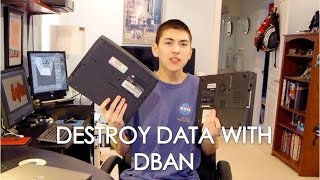 Software Sunday: Destroy Your Data Using DBAN