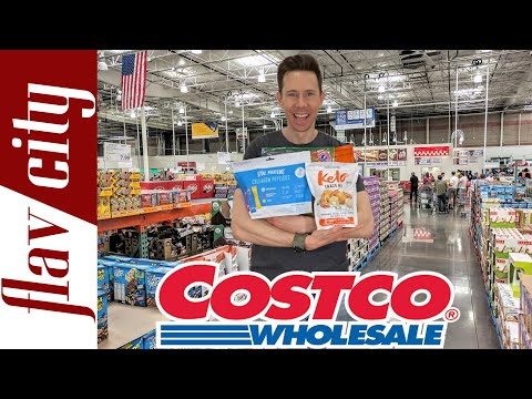 Top 10 HEALTHIEST Things To Buy At Costco Right Now!