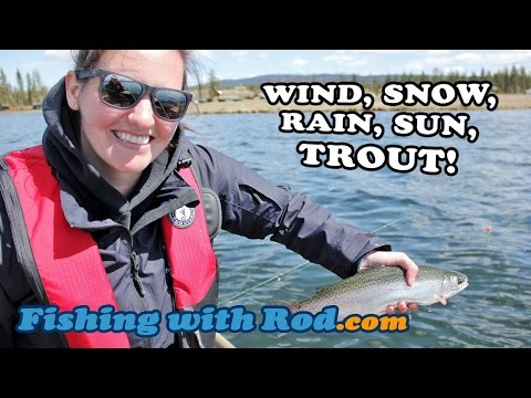 Wind, Snow, Rain, Sun, Trout! | Fishing With Rod