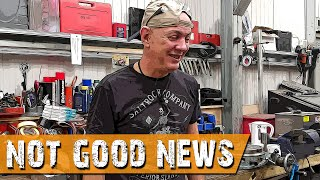 NOT good news - Suzuki Bandit Cafe Racer - GIXIT Project Part 73