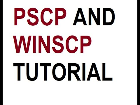 How to transfer files from windows client to AWS linux instance using PSCP and WINSCP