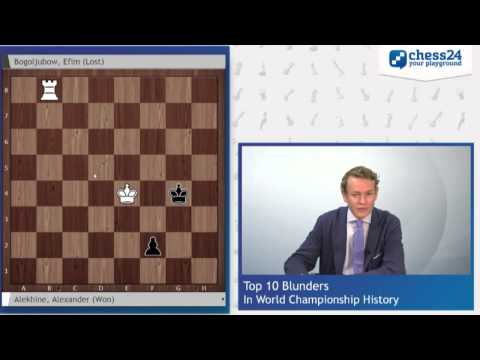 Top 10 Blunders in World Chess Championship History