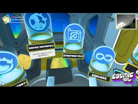 Cosmic trip - GameSharkie