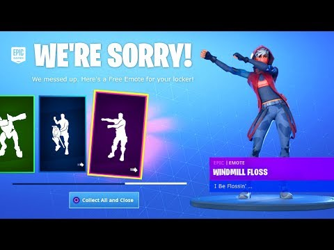 CLAIM THESE FREE EMOTES in Fortnite NOW! (PONY UP, WINDMILL FLOSS Emotes)
