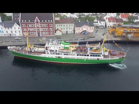 MS Sandnes entering Stavanger/ MS Sandnes einlaufend Stavanger