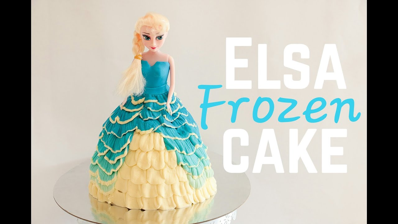 Doll Cake With Buttercream Icing