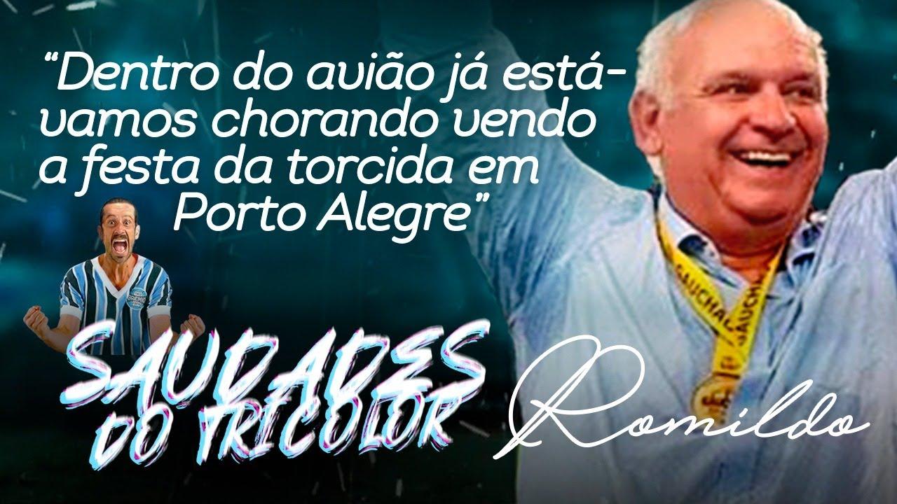 PRES. ROMILDO BOLZAN. Pres. do Grêmio chora e relembra dos títulos. Será que é o melhor presidente?