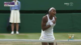 Tennis Sensation Coco Gauff, 15, Advances To Round Of 16 At Wimbledon