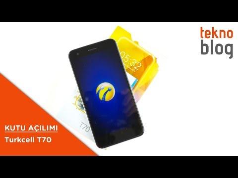 Turkcell T70 Kutu Açılımı