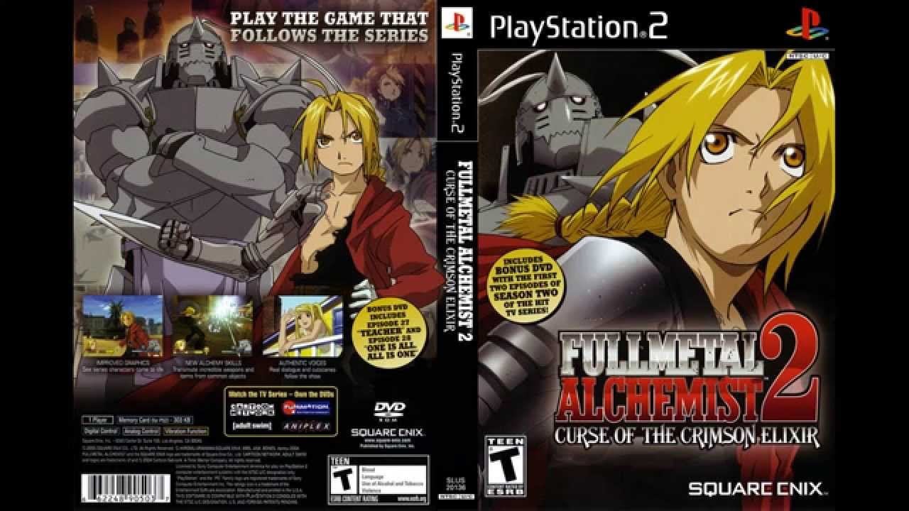 "Fullmetal Alchemist 2: Curse of the Crimson Elixir - ""Boss: The Phantom ~Phase 2~"" 1080p - YouTube"