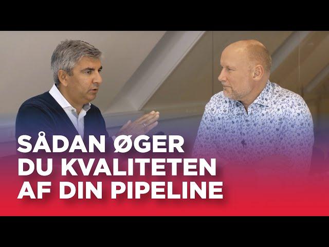 #19: Sådan øger du kvaliteten af din pipeline