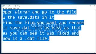 Growtopia - How to fix save.dat txt file! + how to decrypt save.dat