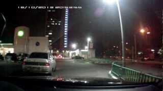 ВАЗ 2110 совершает ДТП и скрывается с места.(, 2012-10-18T07:52:21.000Z)