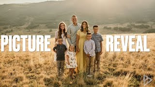 BINGHAM FAMILY PICTURES 2018 | FAMILY PHOTO SHOOT PICTURE REVEAL AND REACTION