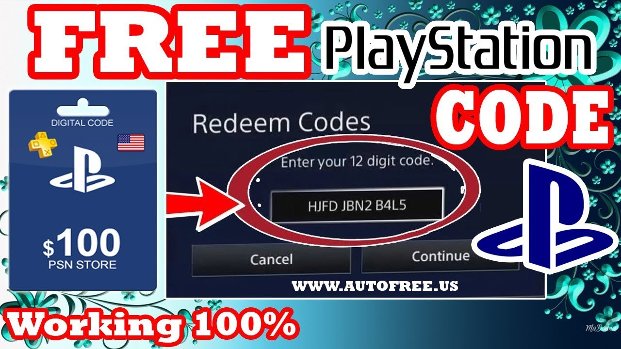 Free Playstation Network Card Codes Hack | Cardfssn org