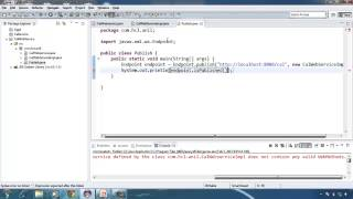 Java Webservice Example using eclipse.mp4