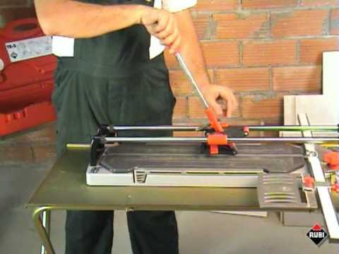rubi trs cortadora de cermica y porcelnico profesional tile and porcelain cutter youtube