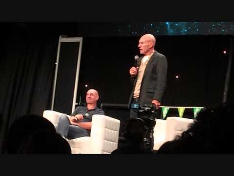 DSTL PATRICK STEWART and Daniel Stewart Guest TalkQ&A