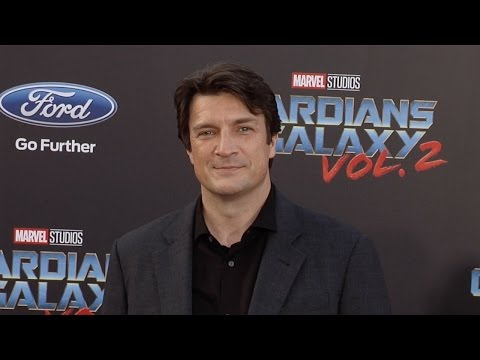 "Nathan Fillion ""Guardians of the Galaxy Vol 2"" World Premiere"