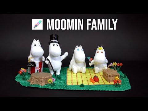 3D펜으로 무민패밀리 만들기 (무민시리즈#3)   MOOMIN FAMILY   3D Pen creations