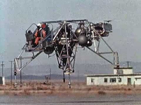 Early LLRV Test Flight