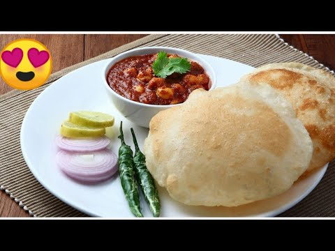 How to make Chole Bhotora | Puri sabji at Home Made |Indian FoodStyle