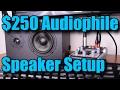 Audiophile Speaker 2.1 Setup For Under $250