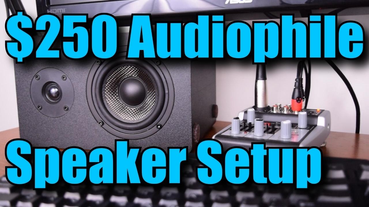 audiophile speaker 2 1 setup for under  250