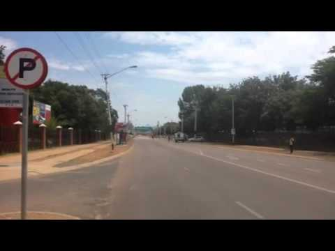 Teargas at University of Pretoria Protest