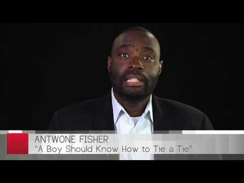 Antwone Fisher Continues His Inspirational Journey With A Boy Should Know How To Tie A Tie