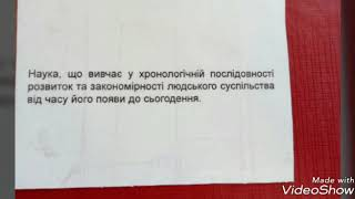 ЗНО історія України Тема 1 терміни