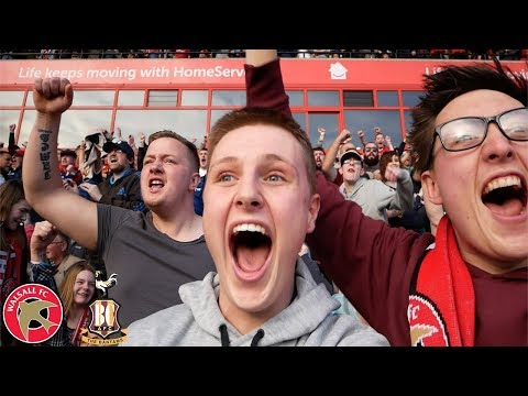 CRAZY FOOTBALL DAY OUT! (WALSALL VS BRADFORD CITY)