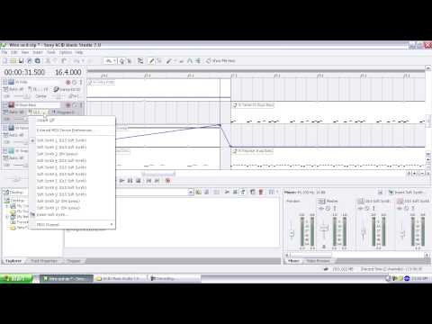 Quick Tip Video: Routing To Soft Synth In ACID Music Studio