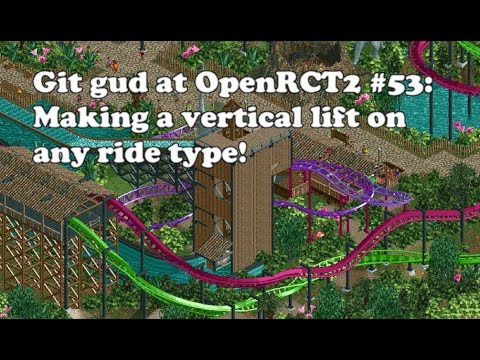 OpenRCT2 Speedrun - All main RCT2 scenarios in 3:02:05 (no