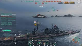 Warships ZAO 180k damag Как правильно перестреливаться? пример