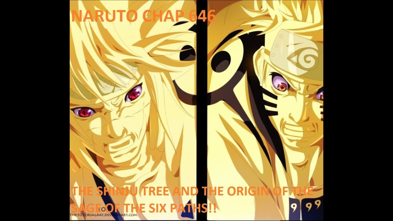 vj it s time to kick it naruto 646 the shinju and the sage of the