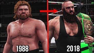 All Royal Rumble Winners 1988 To 2018! ( WWE 2K18 )