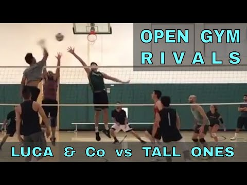 OPEN GYM RIVALS - Luca & Co vs Tall Ones (FULL GAME 7/27/17) - IVL Men's Open Volleyball
